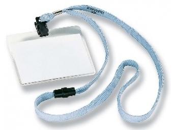 Durable Visačka 90x60mm so sivým remienkom (bal=10ks)