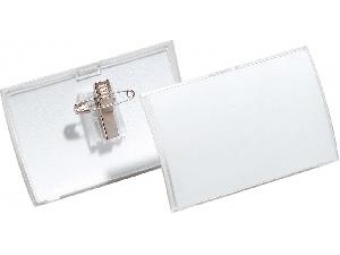 Durable Visačka so štipcom 90x54mm (bal=25ks)