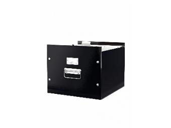 Leitz Škatuľa na závesné obaly Click- Store čierna