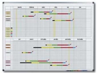 Legamaster Tabuľa PREMIUM plánovacia ročná 90x120cm