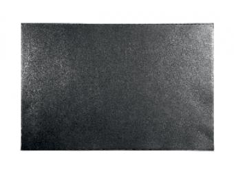 Durable Podložka na stôl 45x65cm kožená čierna