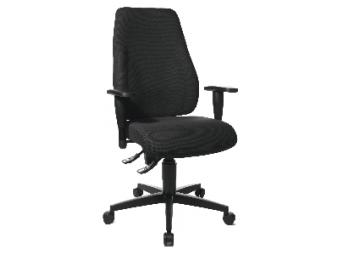 Stolička kancelárska Lady Sitness čierna