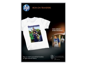 HP Iron-on T-shirt Transfers (C6050A), A4, 170g (bal=12ks)