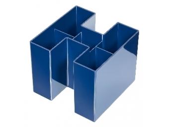 HAN Stojan na perá BRAVO- modrý