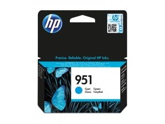 HP No.951 Atramentová kazeta Cyan (CN050AE)