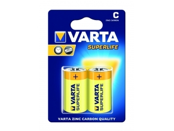 Varta 2014 Superlife 1,5V(R14) (bal=2ks)
