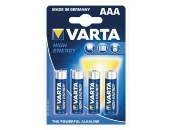 Varta 4903 Alkaline 1,5V AAA Hight Energy (LR03) (bal=4ks)