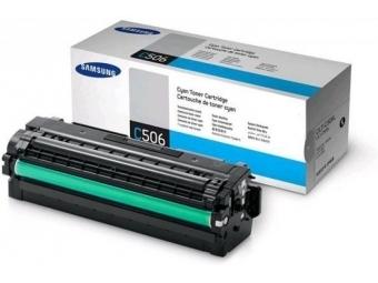 Samsung CLT-C506LTonerová kazeta Cyan, HC