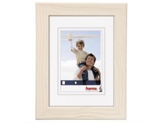 Hama 154473 Rámček drevený RIGA, biely, 15x21 cm