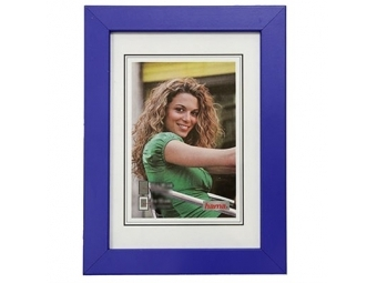 Hama 154442 Rámček drevený JESOLO, modrý, 10x15 cm