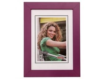 Hama 154433 Rámček drevený JESOLO, fialový, 13x18 cm