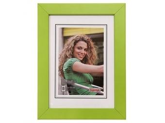 Hama 154413 Rámček drevený JESOLO, zelený, 13x18 cm