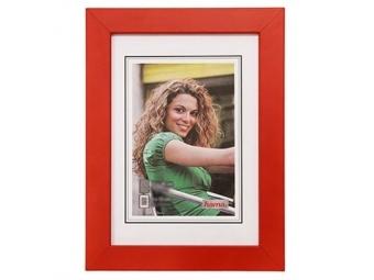 Hama 154403 Rámček drevený JESOLO, červený, 13x18 cm