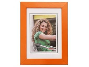 Hama 154395 Rámček drevený JESOLO, oranžový, 15x21 cm