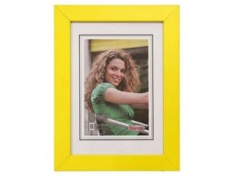 Hama 154375 Rámček drevený JESOLO, žltý, 15x21 cm