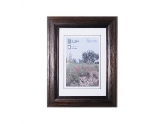 Hama 154315 Rámček drevený LORETA, wenge, 18x24 cm