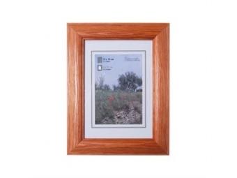 Hama 154305 Rámček drevený LORETA, čerešňový, 18x24 cm