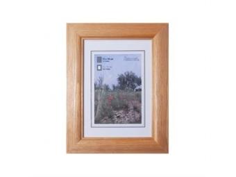 Hama 154300 Rámček drevený LORETA, orech, 18x24 cm