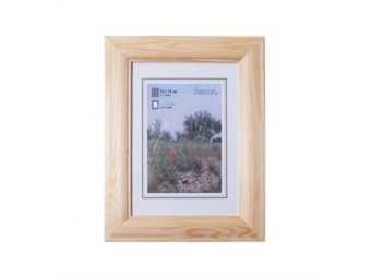 Hama 154294 Rámček drevený LORETA, prírodný, 15x21 cm