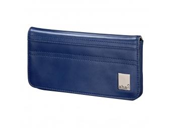 Aha 135166 puzdro-peňaženka na mobil, veľkosť XL, tmavomodré