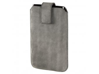 Hama 134498 puzdro na mobil Chic Case, veľkosť XXL, šedé