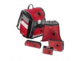 Step by Step 129095 Školský ruksak - 5-dielny set Červený pavúk, certifikát AGR