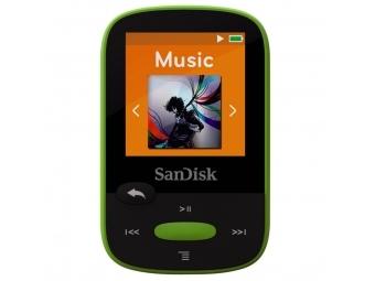 SanDisk Sansa Clip Sports 8 GB limetka