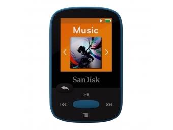 SanDisk Sansa Clip Sports 8 GB modrý