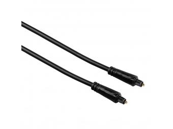 Hama 122255 Optický audio kábel ODT, Toslink vidlica-vidlica, 3*, 0,75 m