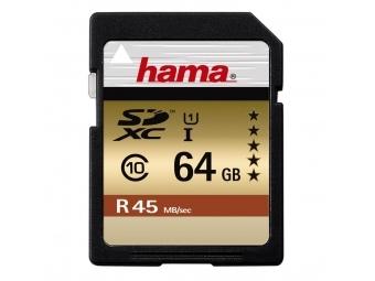 Hama 114944 SDXC 64 GB UHS-I 45 MB/s Class 10