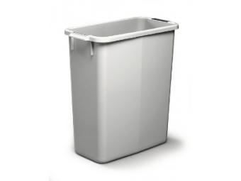 Durable plastový kôš DURABIN,60l sivý