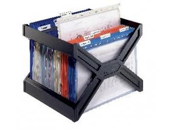 Durable Zásobník Carry Plus na závesné obaly čierny