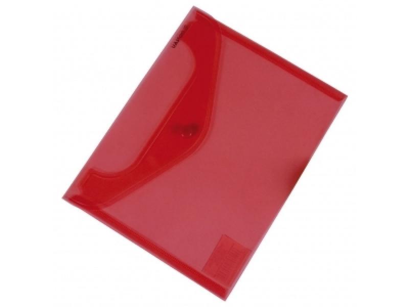0097f363a5 Donau 8547 plastový obal C5 so zapínaním červený