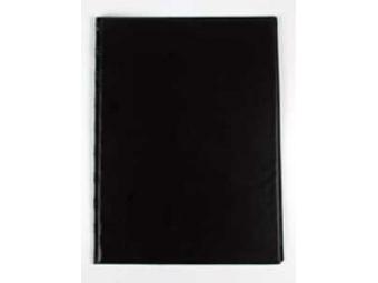 Dosky obyčajné so spodným vreckom čierne