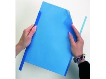Durable Obaly Report PVC modré (bal=50ks)