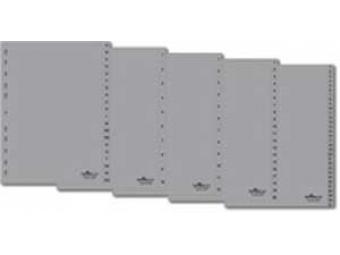 Durable Rozraďovač plastový 1-31 šedý