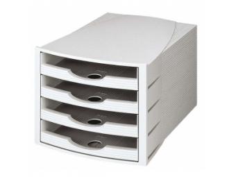 HAN Zásuvkový box Monitor otvorený sivý