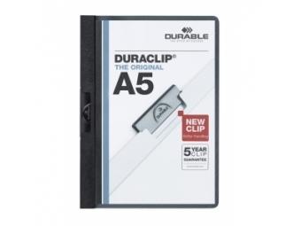 Durable Duraclip A5 30 čierny