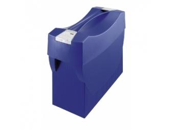 HAN Prenosný box SWING s vekom modrý