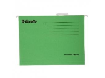 Esselte Závesný obal Pendaflex Štandard zelený (bal=25ks)