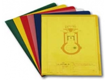 "Durable Obal na dokumenty A4 ""L"" 120mic žltý (bal=100ks)"