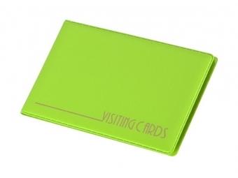 Panta Plast Vizitkár plastový zelený 120x70mm (24ks vizitiek)