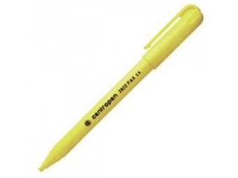 Centropen 2822 FAX zvýrazňovač 1-3mm žltý