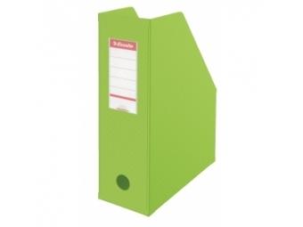 Esselte Stojan na časopisy Economy 10cm plast.,zelený