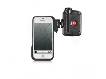Manfrotto obal na iPhone 5 + LED svetlo ML240 (MKLKLYP5)
