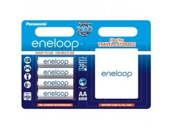 Panasonic Eneloop 4xAA NiMH 1900mAh + púzdro
