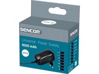 Sencor SPS 10 Adaptér Stab. 1000mA Univ.
