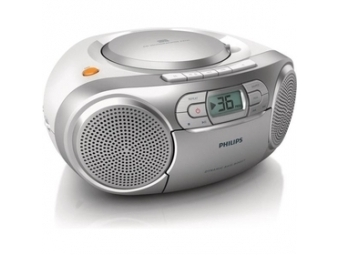 Philips AZ127/12 rádiomagnetofón s CD