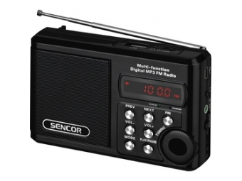 Sencor SRD 215 B RÁDIO S USB/MP3