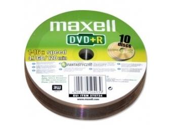 Maxell DVD+R 4,7GB 16x 10SH 275734